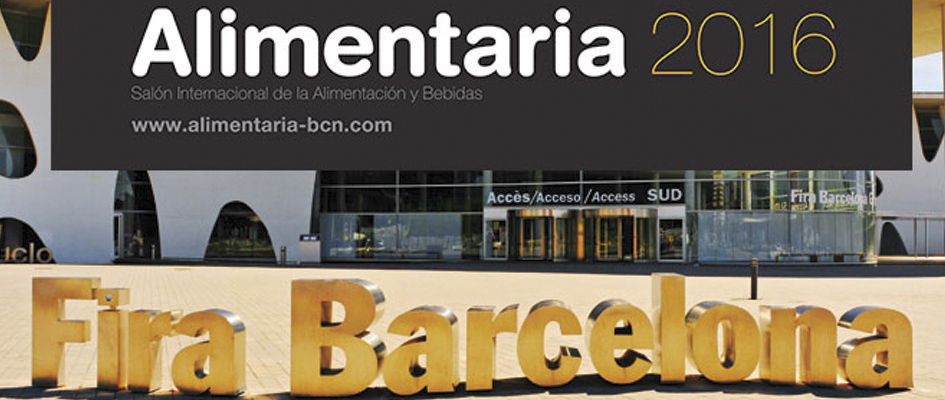 ALIMENTARIA – SALON INTERNATIONAL DE L'ALIMENTATION A BARCELONE